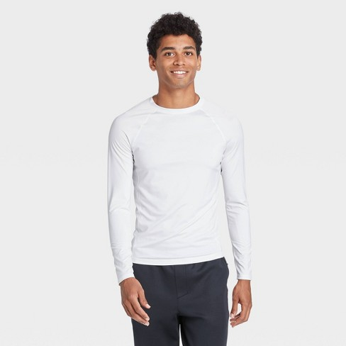 Men's Fitted Long Sleeve T-Shirt - All in Motion™ - image 1 of 4