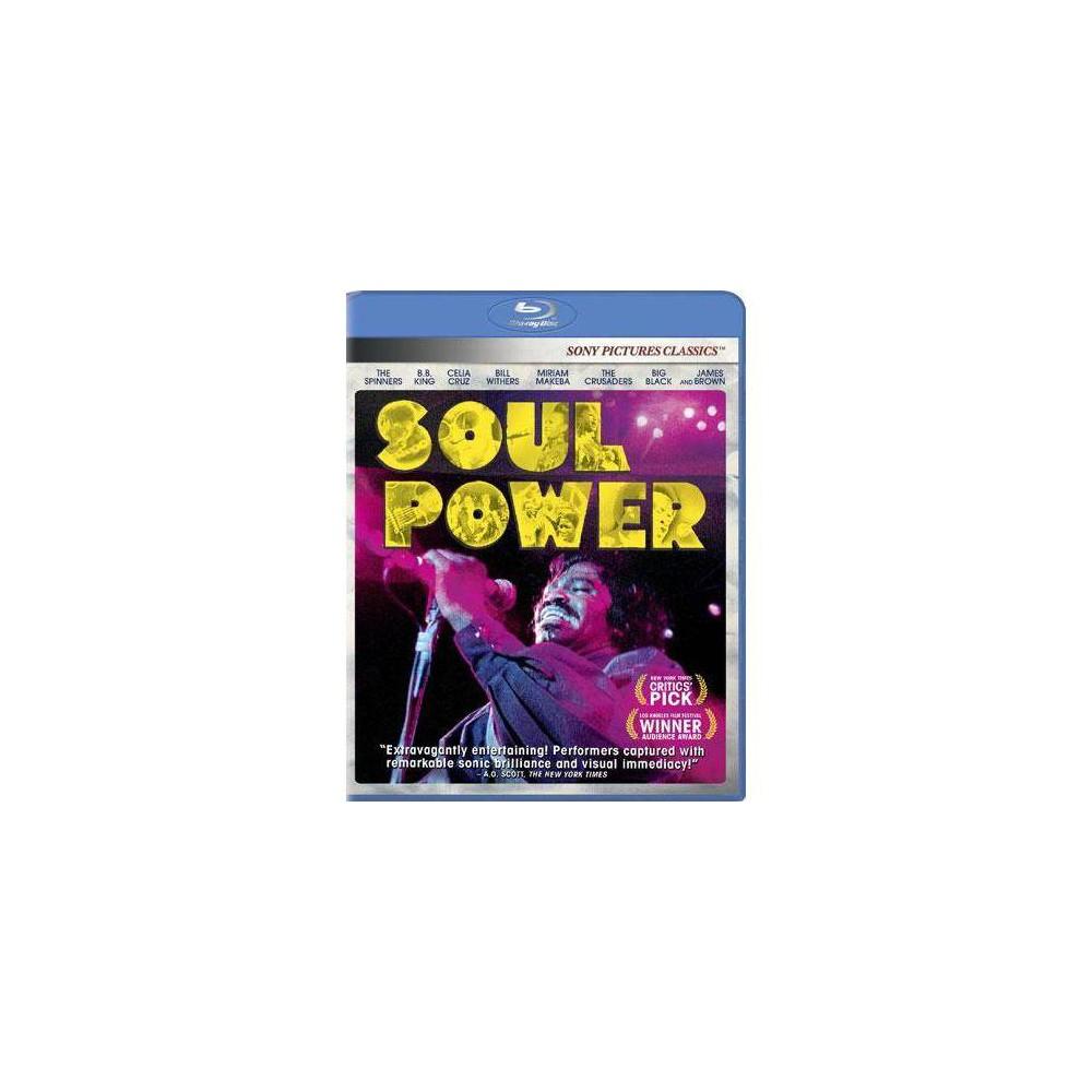 Soul Power Blu Ray