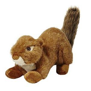 Fluff & Tuff Red the Squirrel, Large Plush Dog Toy, Squeakerless
