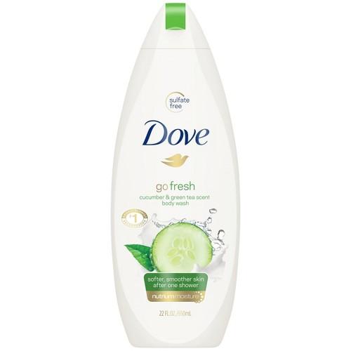 Dove Cucumber and Green Tea Body Wash - 22oz