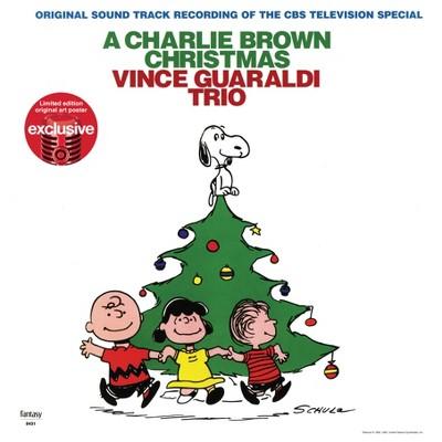Vince Guaraldi Trio – Charlie Brown Christmas (Target Exclusive ,Green Vinyl)w/ Poster