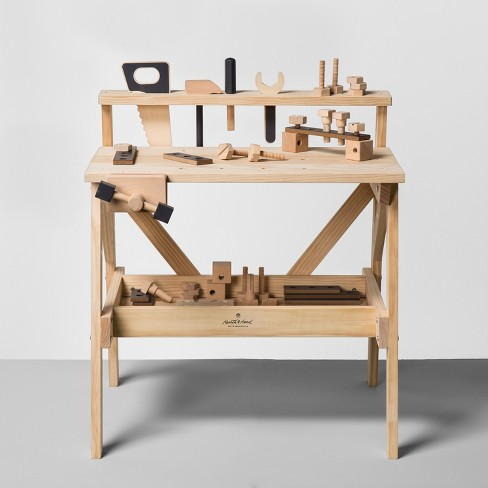 Wooden Toy Tool Bench (38pc) - Hearth & Hand™ with Magnolia