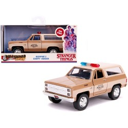 "Hopper's Chevrolet Blazer ""Hawkins Police Dept."" ""Stranger Things"" (2016) TV Series 1/32 Diecast Model Car by Jada"