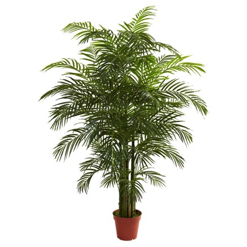 Artificial 6.5ft Areca Palm UV Resistant Indoor/Outdoor - Nearly Natural - image 1 of 1