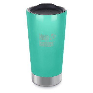 Klean Kanteen 16oz Vacuum Insulated Tumbler with Lid - Teal
