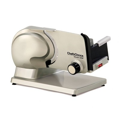 "Chef's Choice 7"" Electric Meat Slicer - Silver"