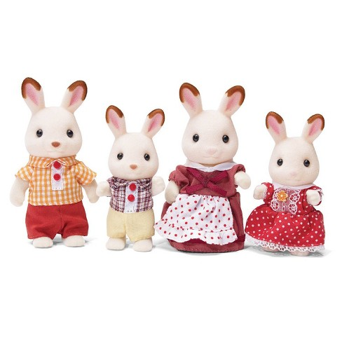 Calico Critters Hopscotch Rabbit Family - image 1 of 4