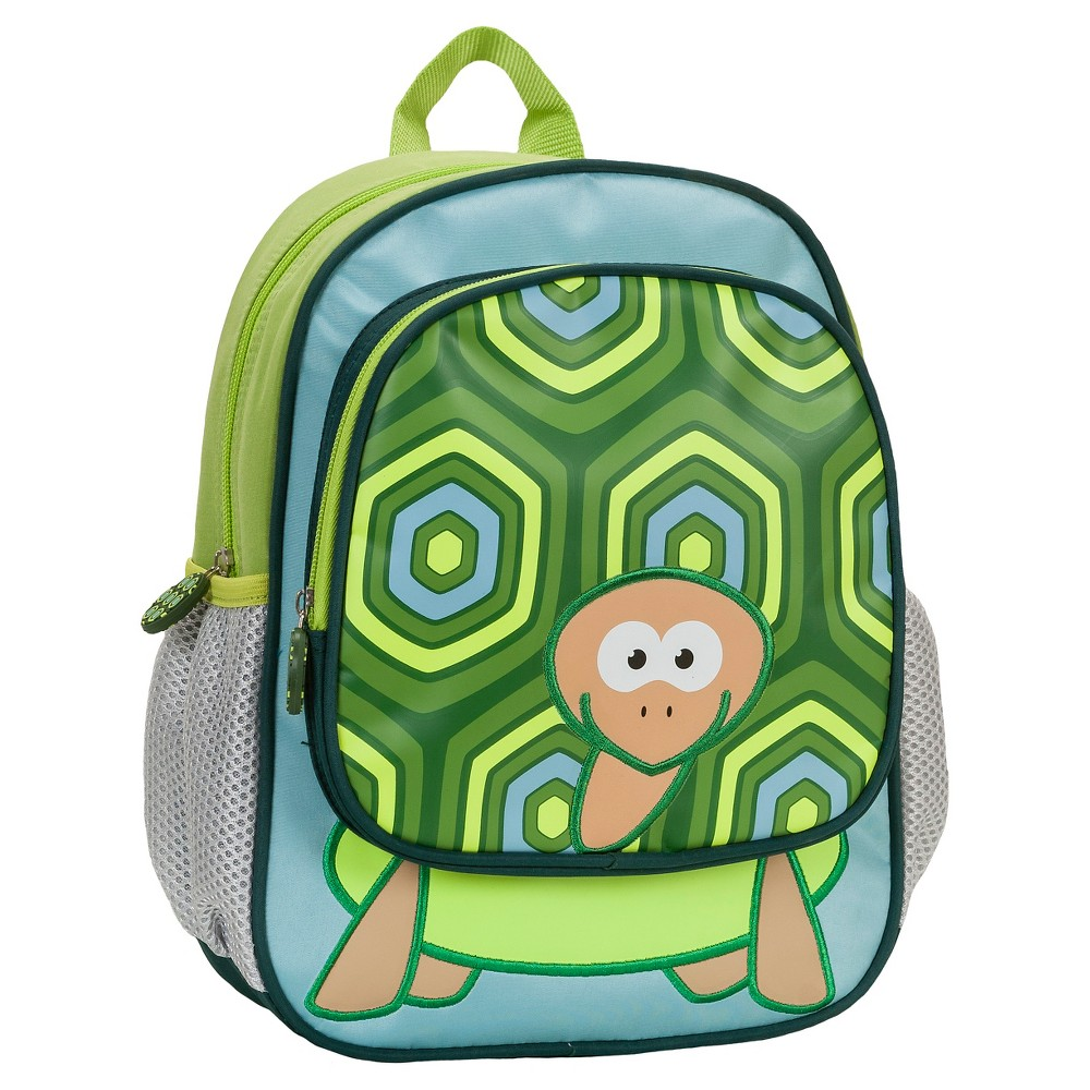 "Image of ""Rockland 12.5"""" Junior My First Backpack - Turtle, Kids Unisex, Size: Small"""