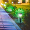 Pure Garden Outdoor LED Lantern Solar Landscaping Lights - Set of 6 - image 3 of 3