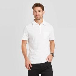 Men's Standard Fit Short Sleeve Polo Jersey Shirt - Goodfellow & Co™