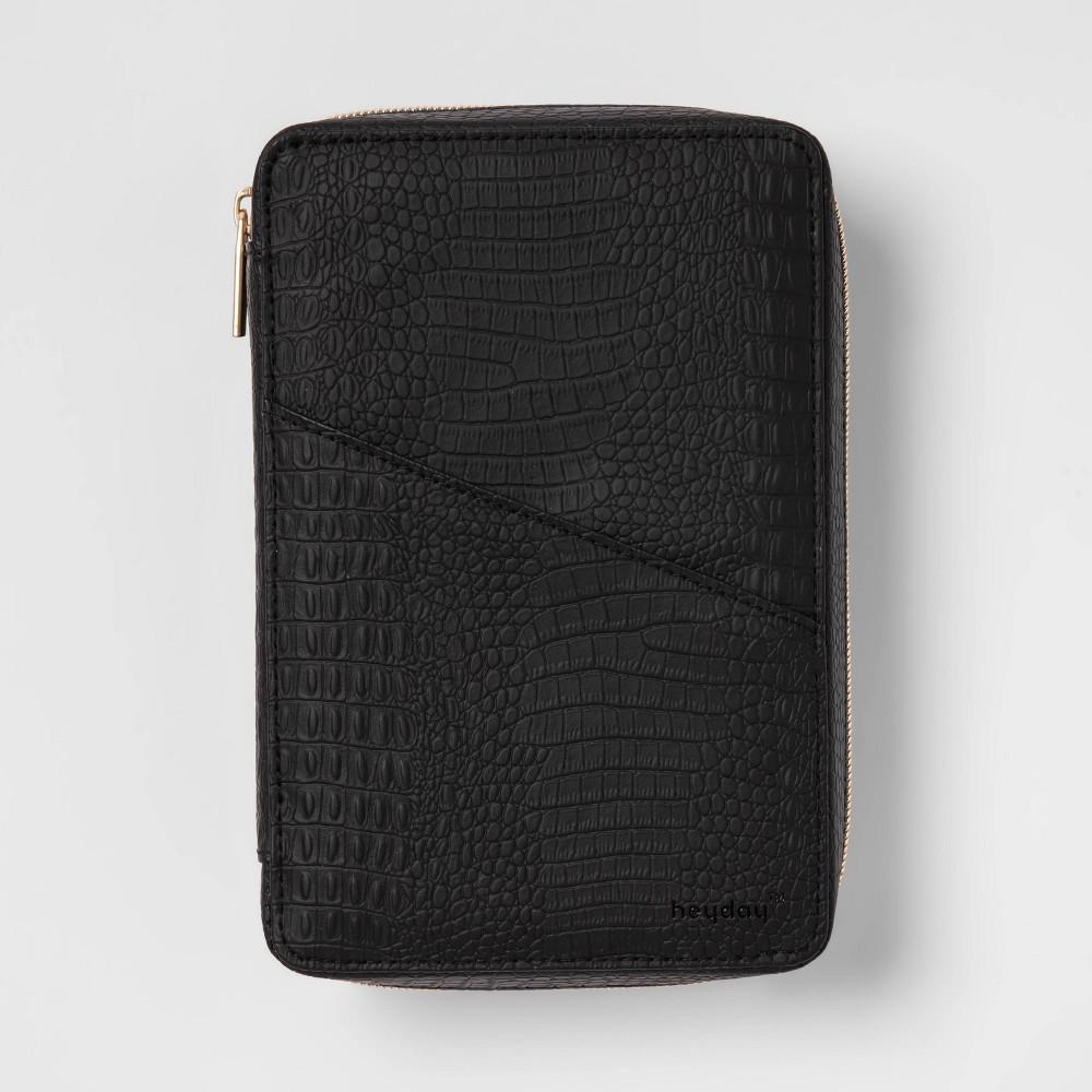 Heyday 8482 Tech Organizer Croc Case Black