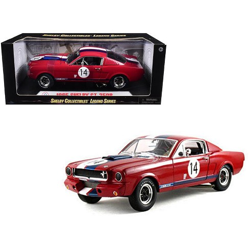 1965 Ford Shelby Mustang GT350R Red  14 1 18 Diecast Car Model By ... 187783679