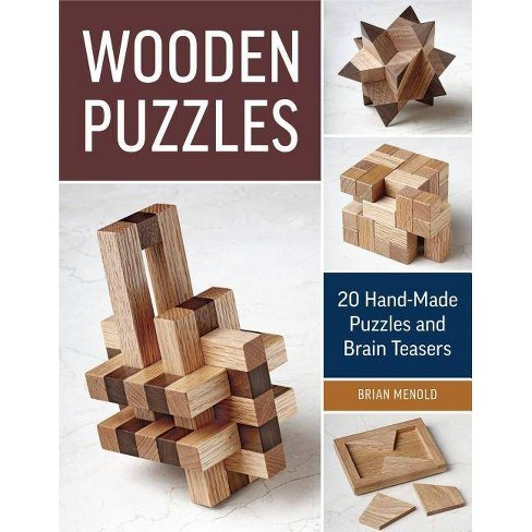 Wooden Puzzles - by  Brian Menold (Paperback) - image 1 of 1