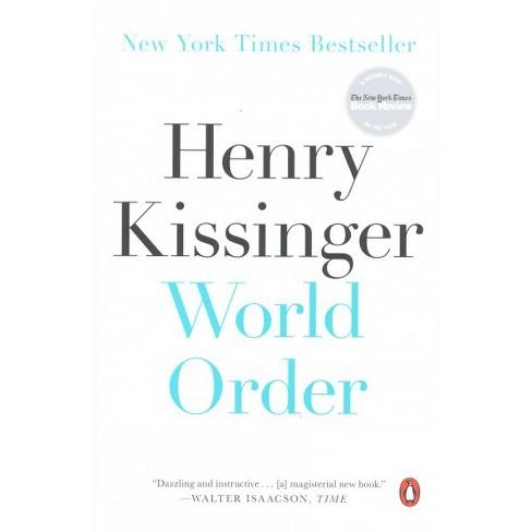 World Order Reprint Paperback Henry Kissinger Target