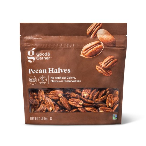 Pecan Halves - 16oz - Good & Gather™ - image 1 of 3