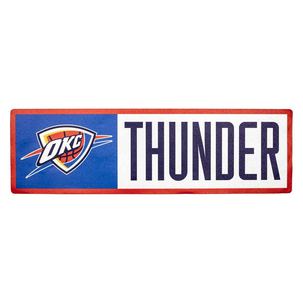 NBA Oklahoma City Thunder Outdoor Step Decal
