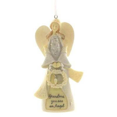 "Foundations 4.5"" Grandmother Angel Ornament Grandma  -  Tree Ornaments"