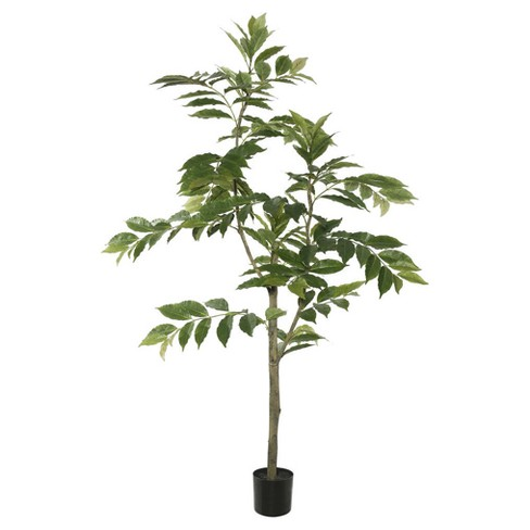 Artificial Potted Nandina Tree (4ft) Green - Vickerman® - image 1 of 1