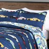 3pc Full/Queen Race Car Bedding Set Navy - Lush Decor - image 3 of 4