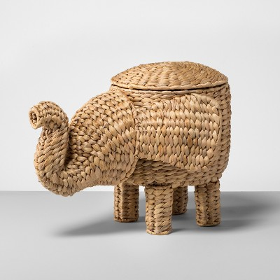 15.7  x 12.2  Rattan Elephant Basket Natural - Opalhouse™