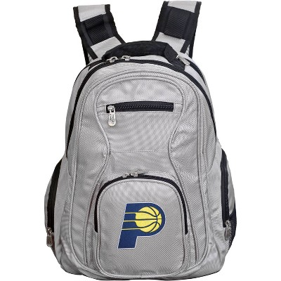 NBA Indiana Pacers Gray Laptop Backpack