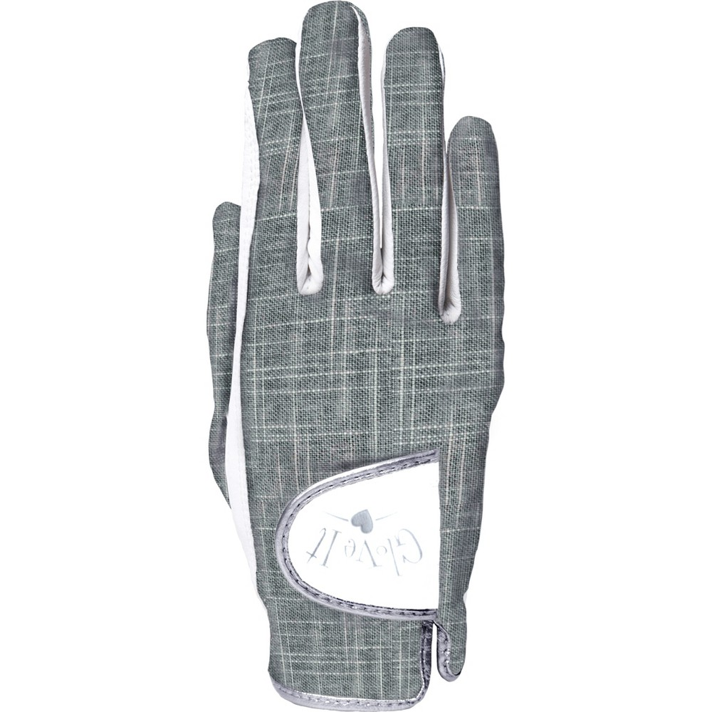 Glove It Women's Silver Lining Golf Glove - Right Hand S, Gray White