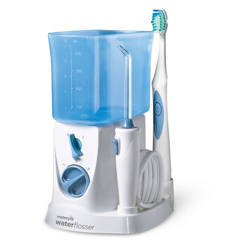Waterpik® 2-in-1 Water Flosser and Sonic Toothbrush - WP-700W