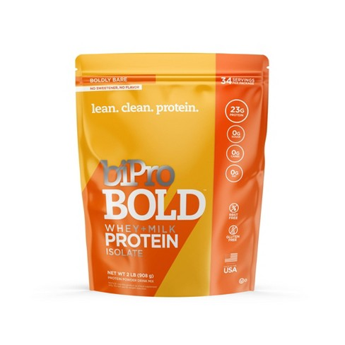 BiPro Bold Protein Powder - Boldly Bare Unflavored - 2lbs - image 1 of 4