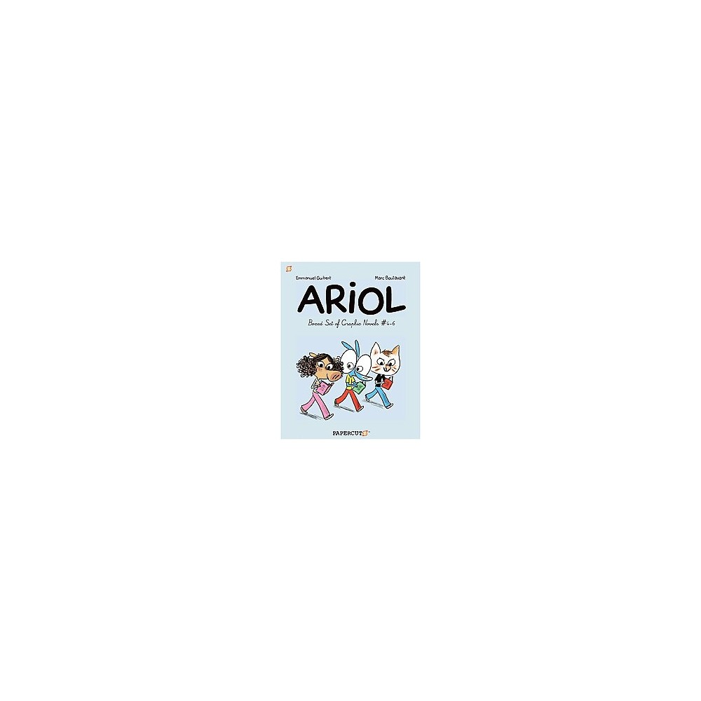 Ariol : A Beautiful Cow / Bizzbilla Hits the Bullseye / a Nasty Cat (Paperback) (Emmanuel Guibert)