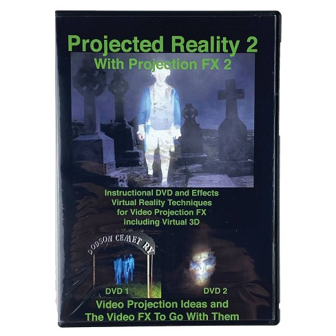 DVD Projected Reality Vol 2 Halloween LED Special Effect Lights - image 1 of 3