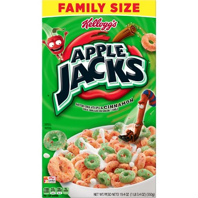 Breakfast Cereal: Apple Jacks