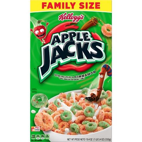 Apple Jack's Breakfast Cereal - 19.4oz - Kellogg's - image 1 of 4