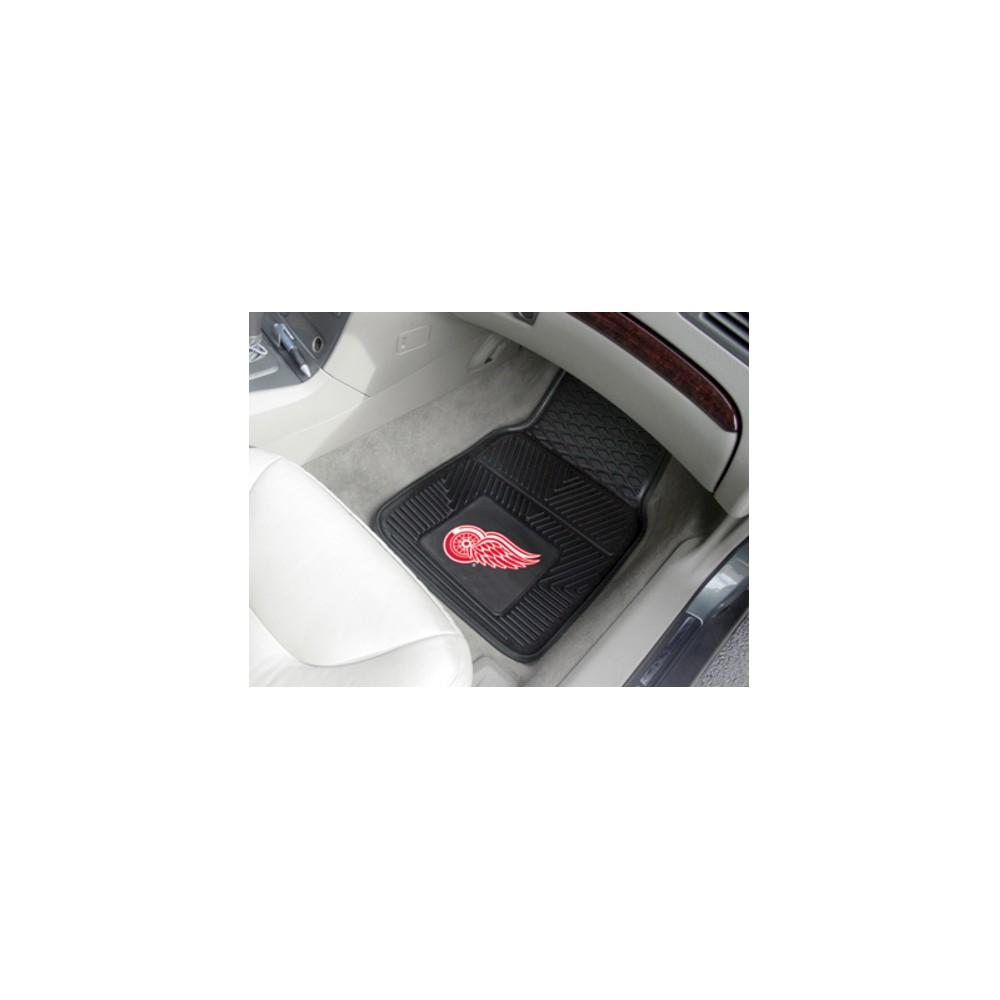 NHL Fan Mats 2-pc Vinyl Car Mat Set - Detroit Red Wings