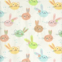 30ct Easter Bunny Lunch Napkins - Spritz™