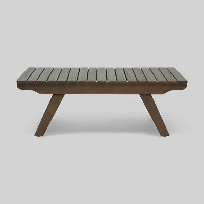 Sedona Acacia Wood Coffee Table - Christopher Knight Home