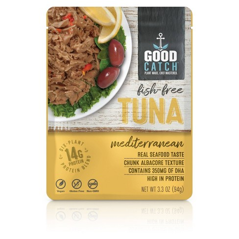 Good Catch Mediterranean Fish-Free Tuna - 3.3oz - image 1 of 3