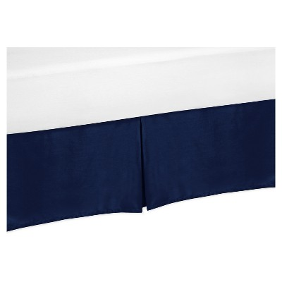 Navy Bed Skirt - Sweet Jojo Designs®