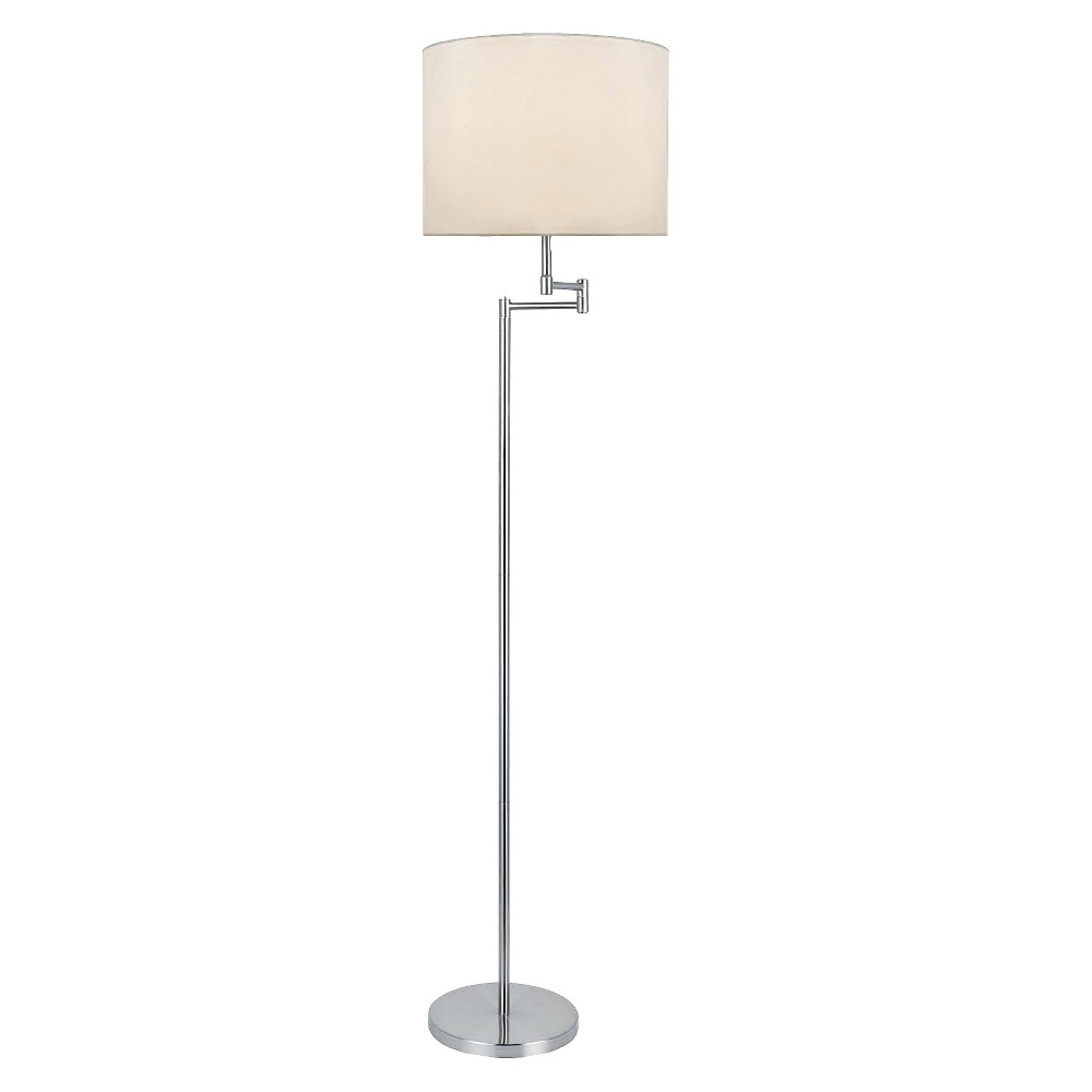Image of Lite Source Rotary On/Off Switch Floor Lamp - White