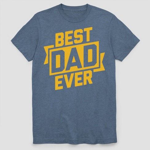 f011853e Men's Best Dad Ever Short Sleeve Graphic T-Shirt Navy Heather. Shop this  collection