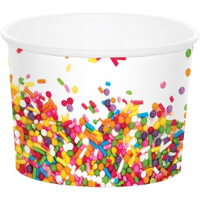 6ct Confetti Sprinkles Treat Cup