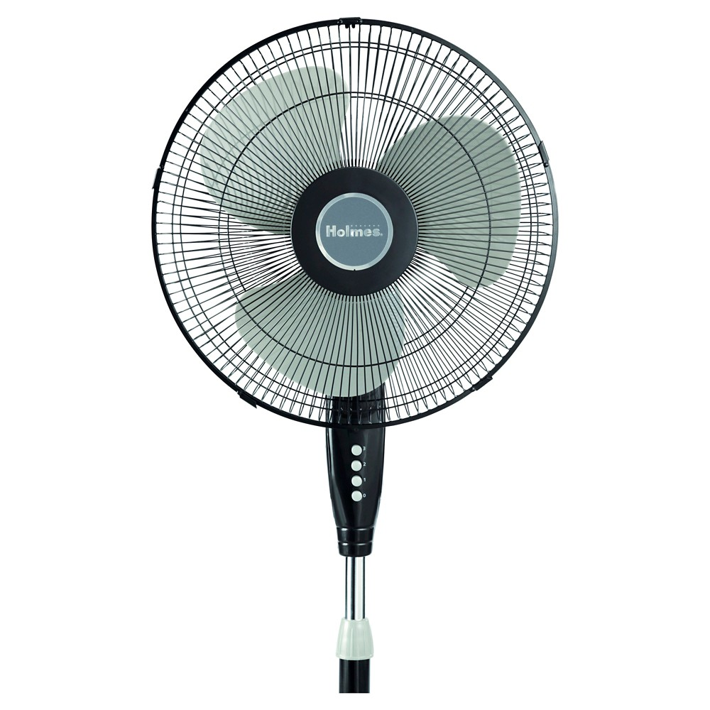 14959399 - Holmes 16 Stand Oscillating Fan - Black