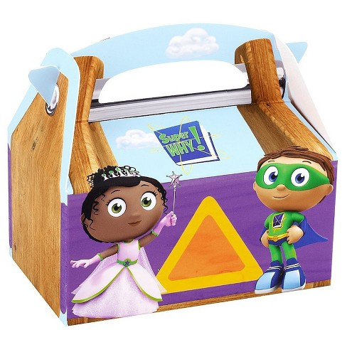 8 ct Super Why! Favor Boxes - image 1 of 1