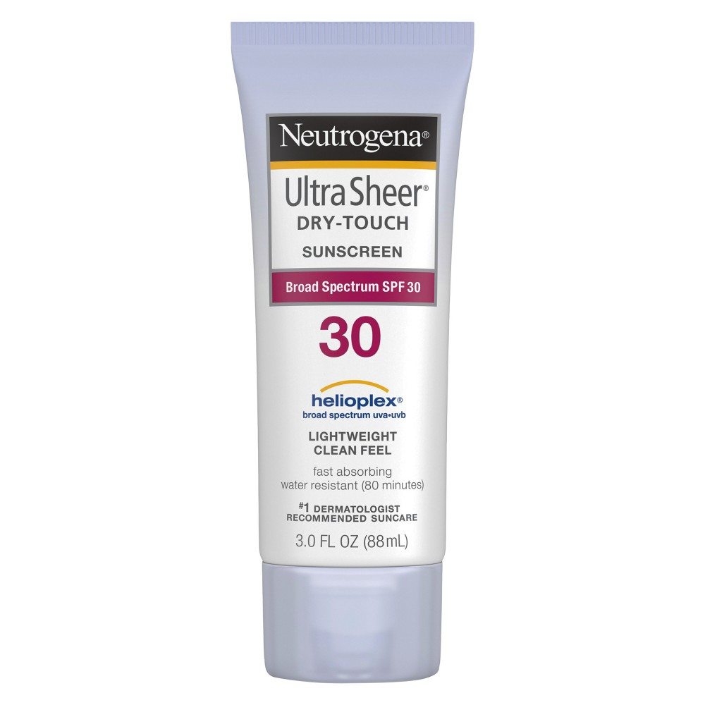 Neutrogena Ultra Sheer Dry Touch Water Resistant Sunscreen - Spf 30 - 3 fl oz