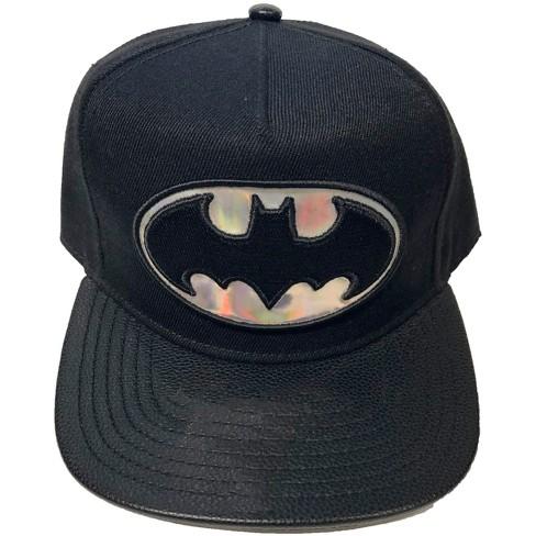 Men's Batman Baseball Hats - Black One Size - image 1 of 1