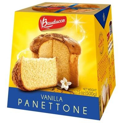 Bauducco Panettone Vanilla - 17.5oz/12pk