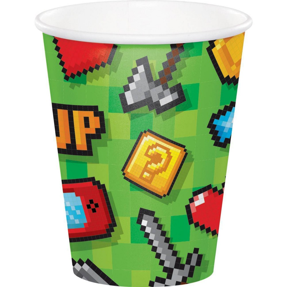 24ct Video Game Party Cups