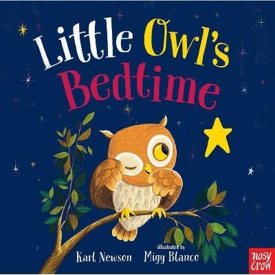 Little Owl's Bedtime - by Karl Newson (Board Book)