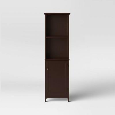 Wood Linen Tower Espresso - Threshold™