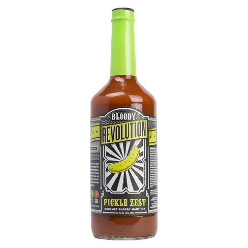 Bloody Revolution Pickle Zest Bloody Mary Mix - 32 fl oz Bottle - image 1 of 1