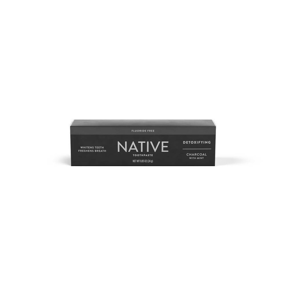 Image of Native Charcoal Fluoride Free Toothpaste - 0.85 oz